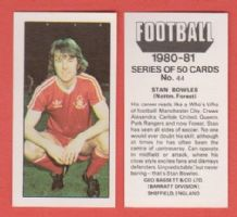 Nottingham Forest Stan Bowles 44